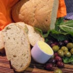 Spinach and Olive Bread
