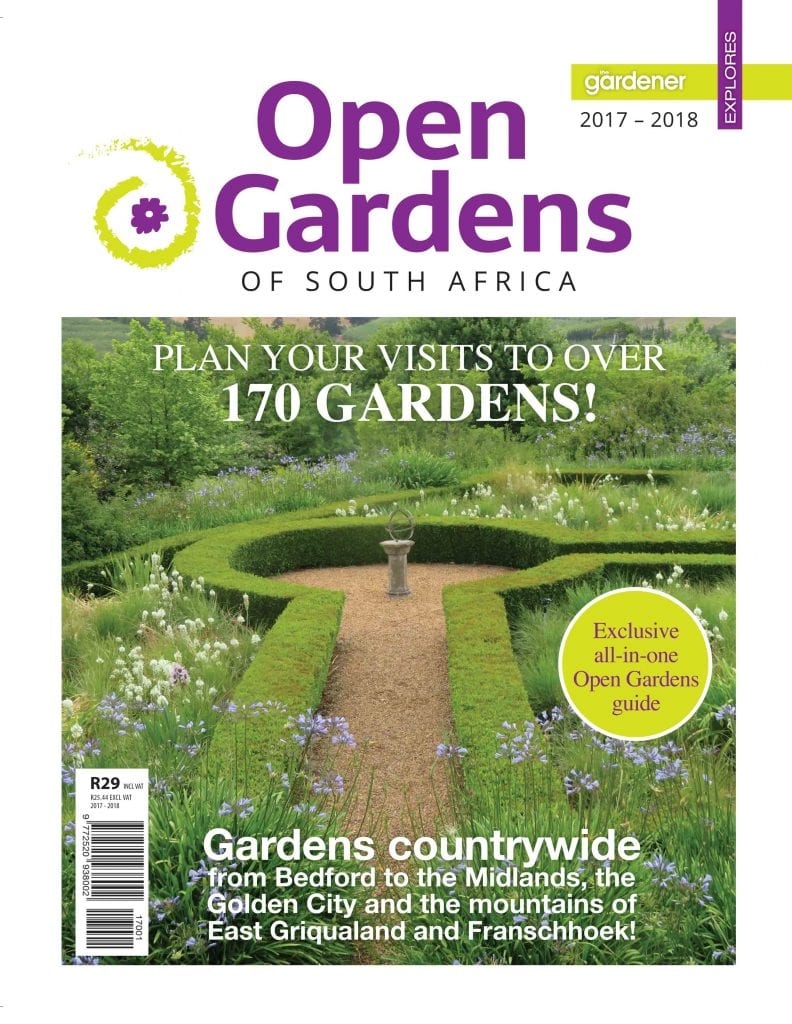 Welcome To The First Open Gardens Magazine Of South Africa!