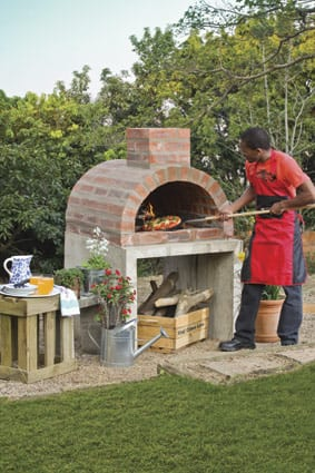 Build A Wood Fired Pizza Oven In Your Backyard outdoor pizza oven - the gardener