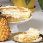 Pineapple and Coconut Cream Pie