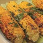 Chilli buttered sweetcorn