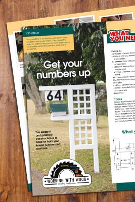 Working_With_Wood_House_Number_and_Post_Box_Stand