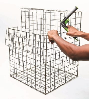 gabion bench cage