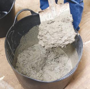 concrete pot stand DIY
