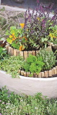 tower planter