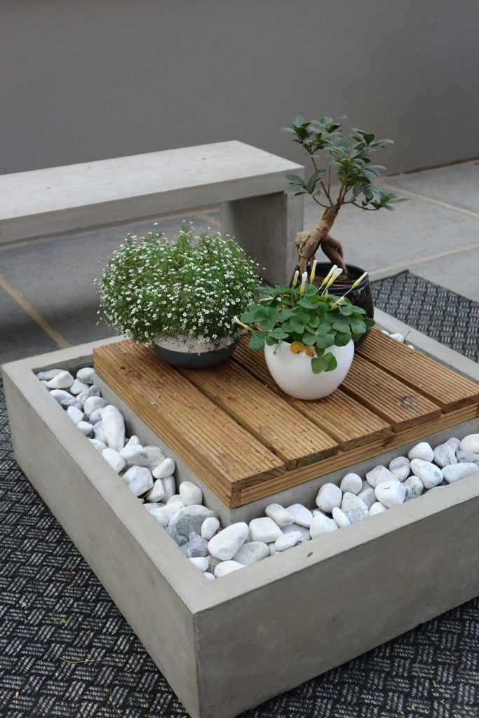 contemporary offbeat outdoor spaces
